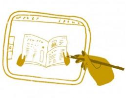 iPad-ikoni kuvitustöille
